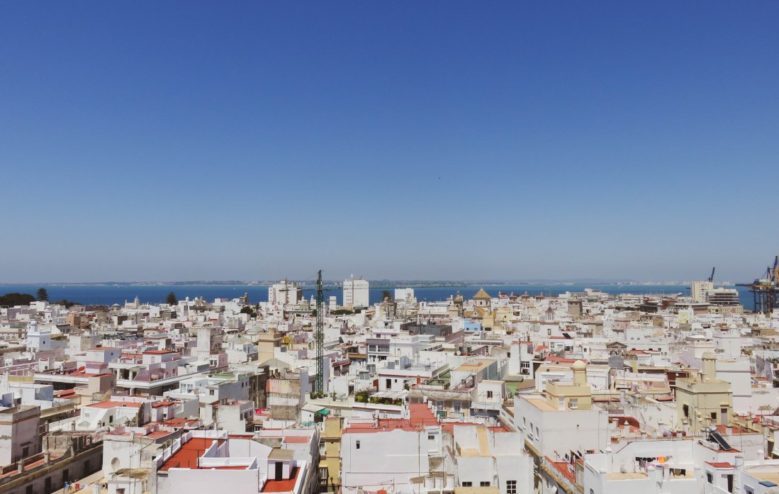 Torre Tavira's amazing views over Cadiz