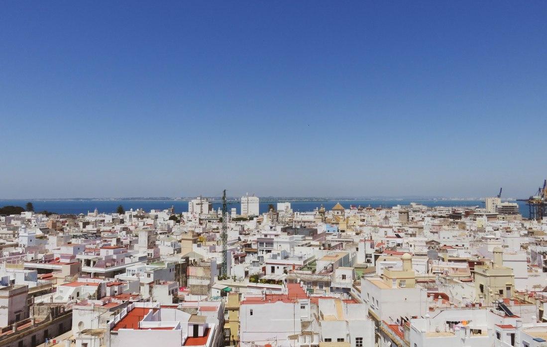 Torre Tavira's amazing views over Cadiz
