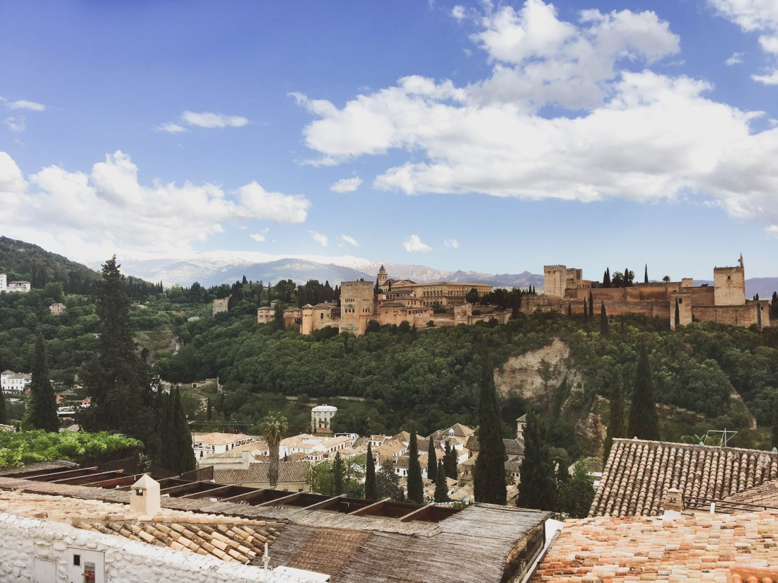 The world famous palace, the Alhambra (Granada)