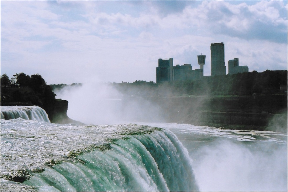 American Falls, located next to the Niagara Falls