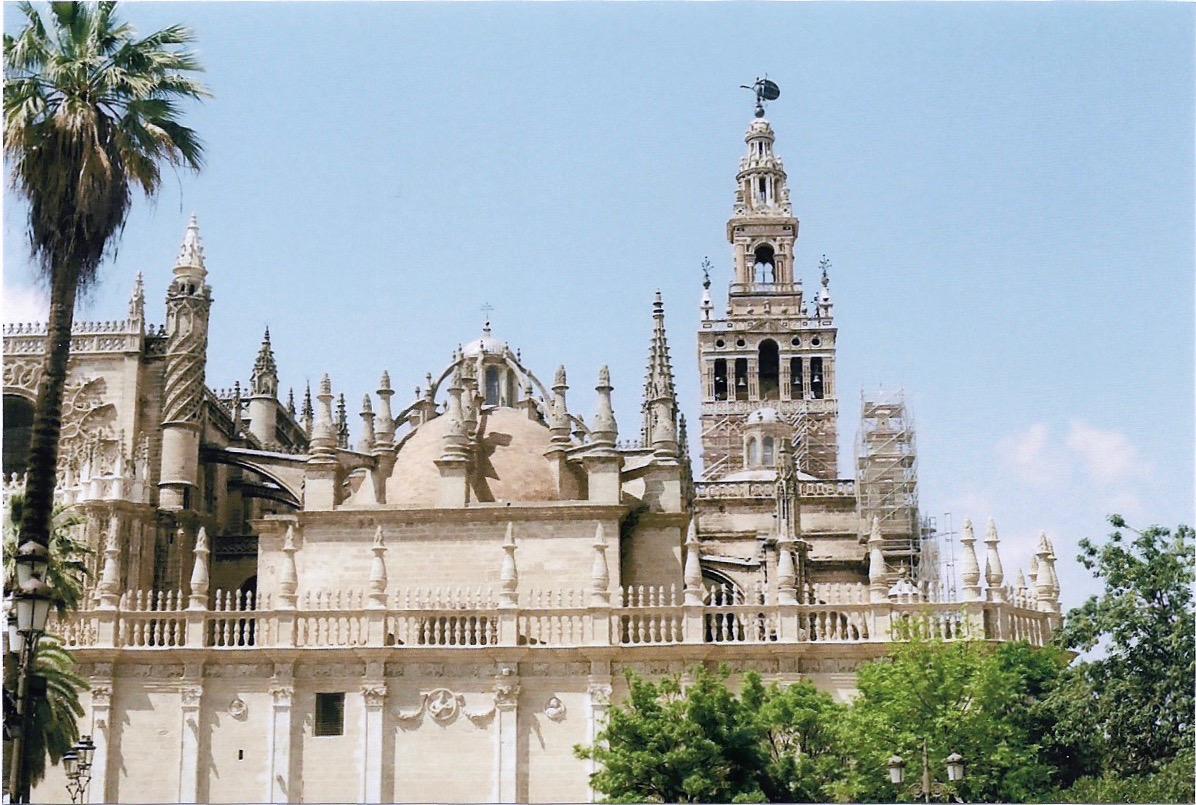La catedral de Sevilla, catedral gótico mas grande del mundo
